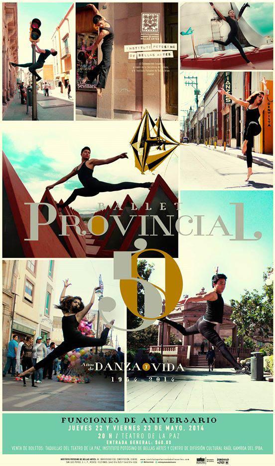 ballet provicional 50 años