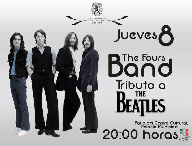 the fours band tributo a the beatles