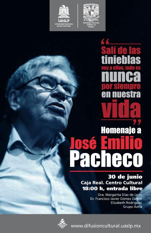 Homenaje a José Emilio Pachecho