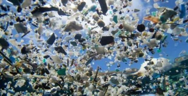 plastico en oceano