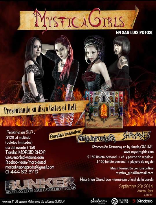 Mystica Girls en San Luis Potosi