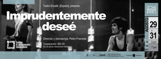 Imprudentemente deseé @ El Rinoceronte Enamorado  | San Luis Potosí | San Luis Potosí | México