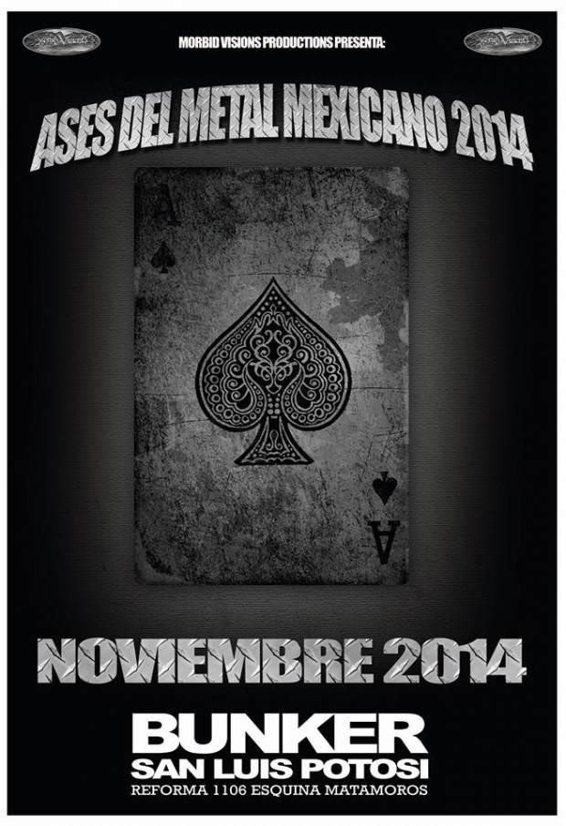 ases del metal mexicano 2014