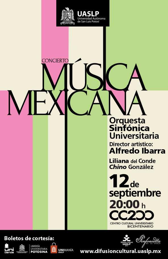 concierto de música mexicana