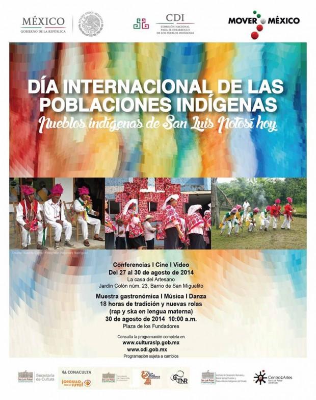 día internacional de las poblaciones indigenas slp
