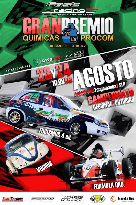 Fast Racing San Luis Potosí  @ Autódromo Tangamanga 2 | San Luis Potosí | San Luis Potosí | México