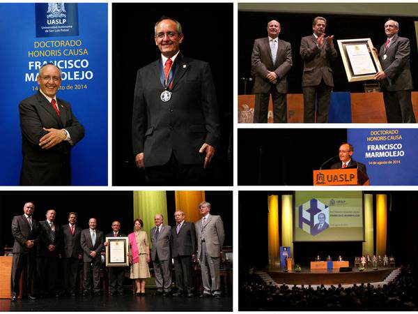 honoris causa Francisco Marmolejo