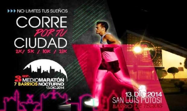tercer maraton nocturno 7 barrios