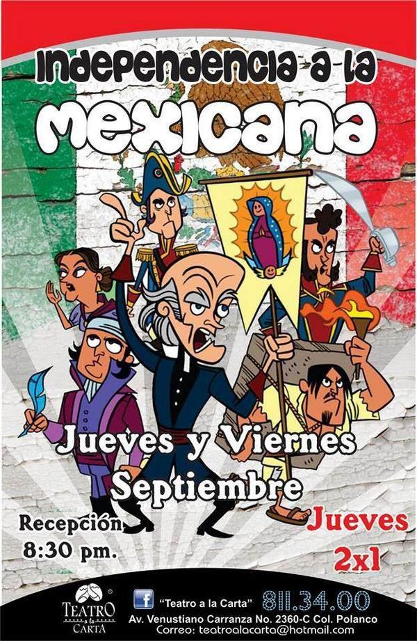 Independencia a la mexicana