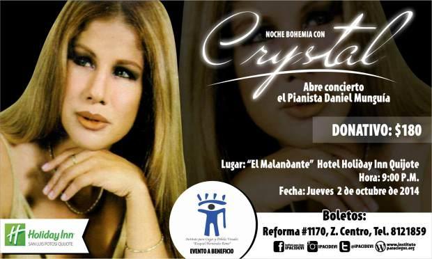 Noche de Bohemia con Crystal