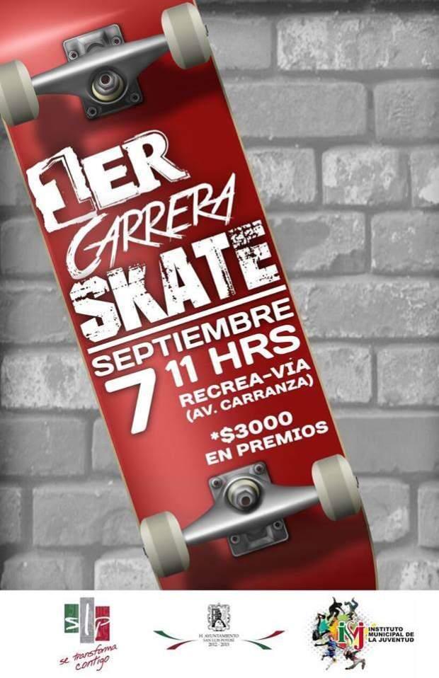 1er Carrera Skate  @ Avenida Carranza