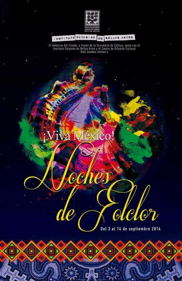 Noches de Folclor del IPBA @ Centro de Difusión Cultural Raúl Gamboa | San Luis Potosí | San Luis Potosí | México
