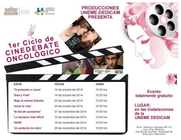 1er Ciclo de Cinedebate Oncológico @ UNEMEDEDICAM | San Luis Potosí | San Luis Potosí | México