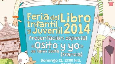 Photo of Del 11 al 19 de Octubre, Feria del Libro Infantil y Juvenil