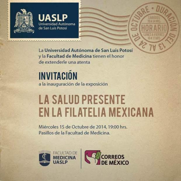 La Salud Presente en la Filaterlia Mexicana