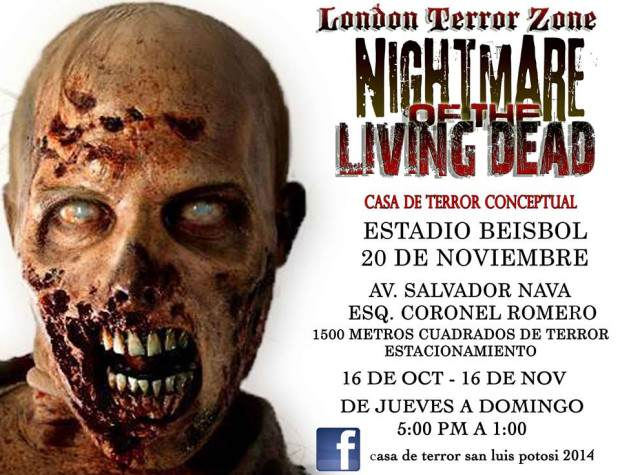 London Teror Zone SLP