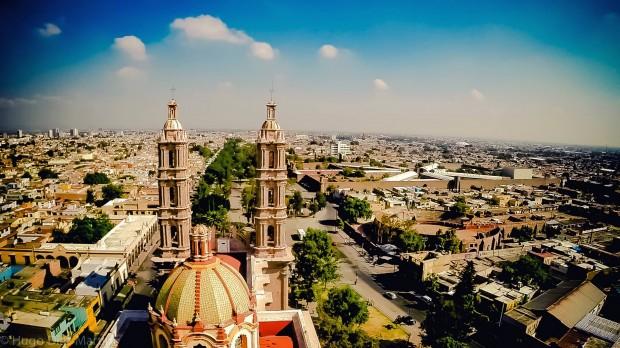 San Luis Potosí toma aérea