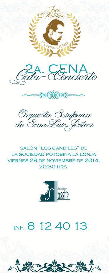2a Cena en honor a Juan Autrique @ Sociedad Potosina La Lonja | San Luis Potosí | San Luis Potosí | México
