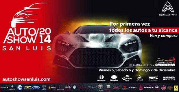 AutoShow San Luis 2014 @ Centro de Convenciones de San Luis Potosí    San Luis Potosí   San Luis Potosí   México
