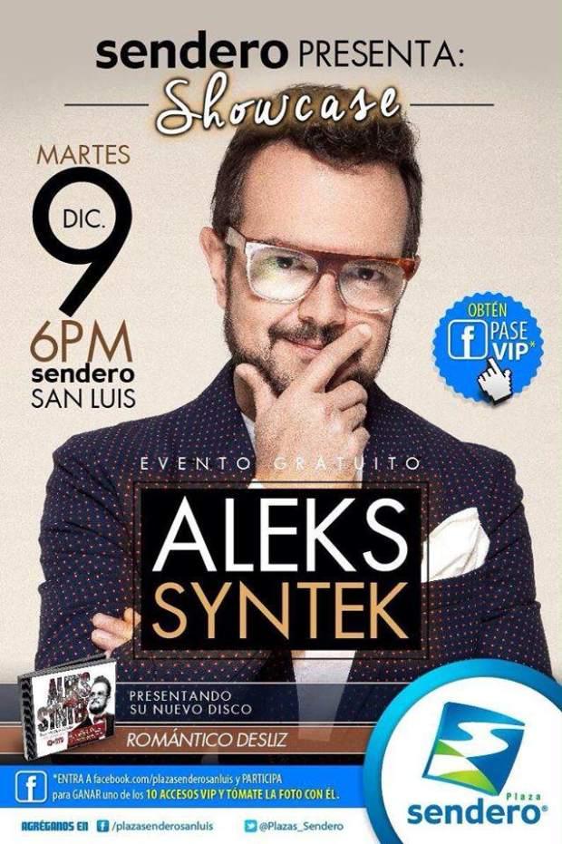 Showcase de Aleks Syntek @ Plaza Sendero   San Luis Potosí   San Luis Potosí   México