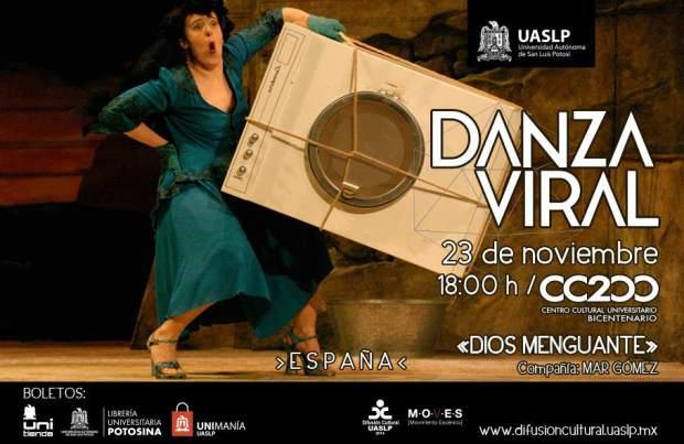Danza Viral: Dios Menguante @ Centro Cultural Universitario Bicentenario | San Luis Potosí | San Luis Potosí | México