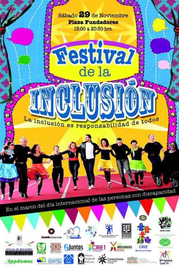 Festival de la Inclusión @ Plaza de los Fundadores   San Luis Potosí   San Luis Potosí   México
