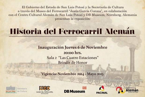 Historia del Ferrocarril Alemán @ Museo del Ferrocarril | San Luis Potosí | San Luis Potosí | México
