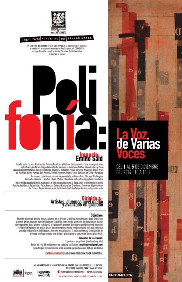 Polifonía  La Voz de Varias Voces con Emilio Said