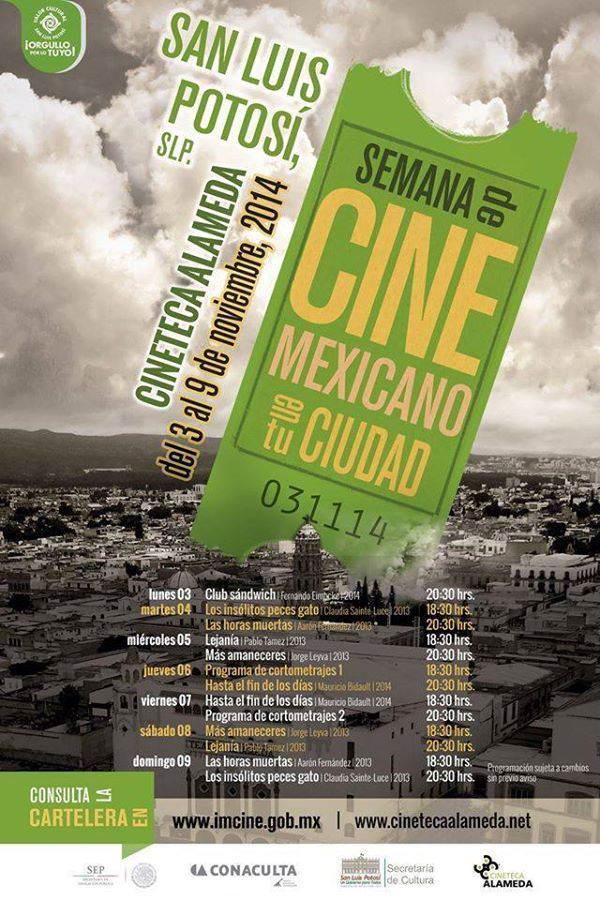 Semana de Cine Mexicano en tu Ciudad @ Cineteca Alameda | San Luis Potosí | San Luis Potosí | México