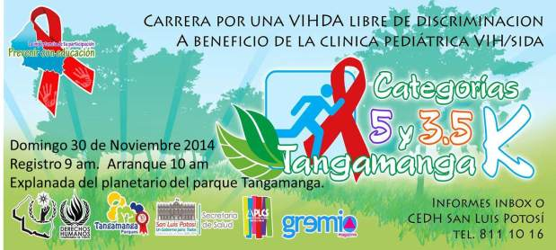 Carrera por una VIHDA libre de discriminación  @ Parque Tangamanga | Salamanca | Guanajuato | México