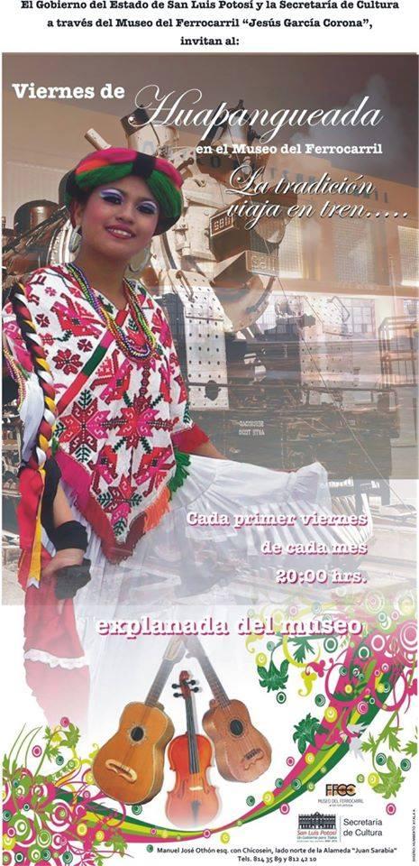 Viernes de Huapangueada @ Museo del Ferrrocarril | San Luis Potosí | San Luis Potosí | México