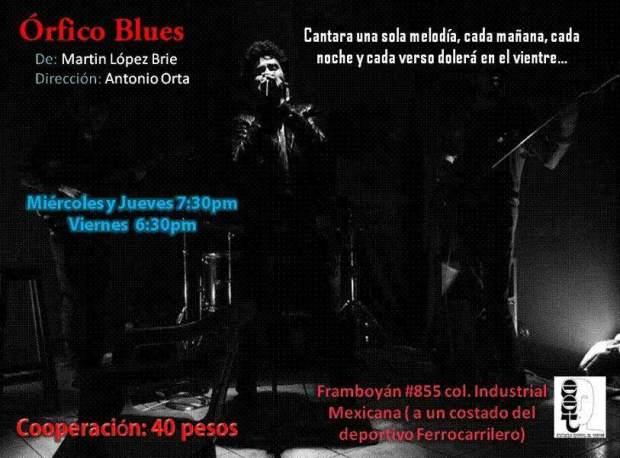 Óficio Blues @ Escuela Estatal de Teatro