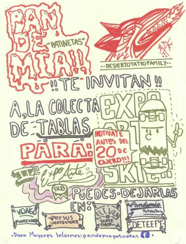 2da Expo Arte Skate San Luis Potosí