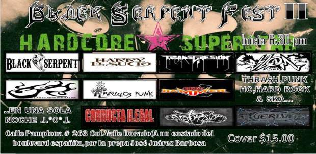 Black Serpent Fest II @ San Luis Potosí | San Luis Potosí | México