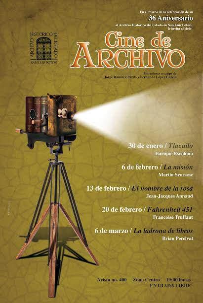 Cine de Archivo @ San Luis Potosí | San Luis Potosí | México