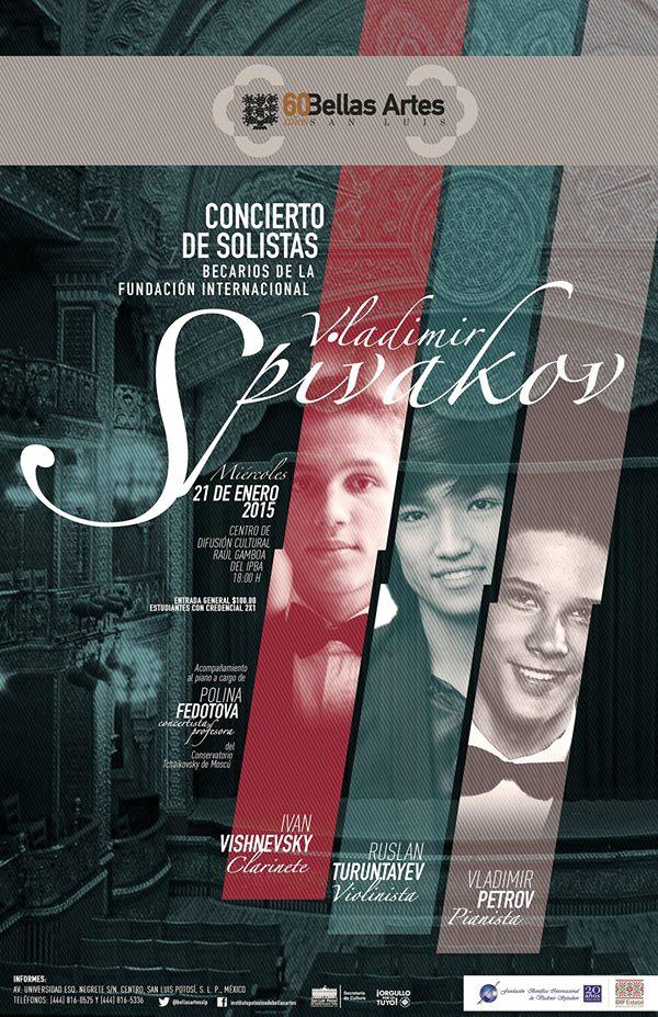 Concierto de solistas Vladimir Spivakov @ Centro de Difusión Cultural Raúl Gamboa | San Luis Potosí | San Luis Potosí | México