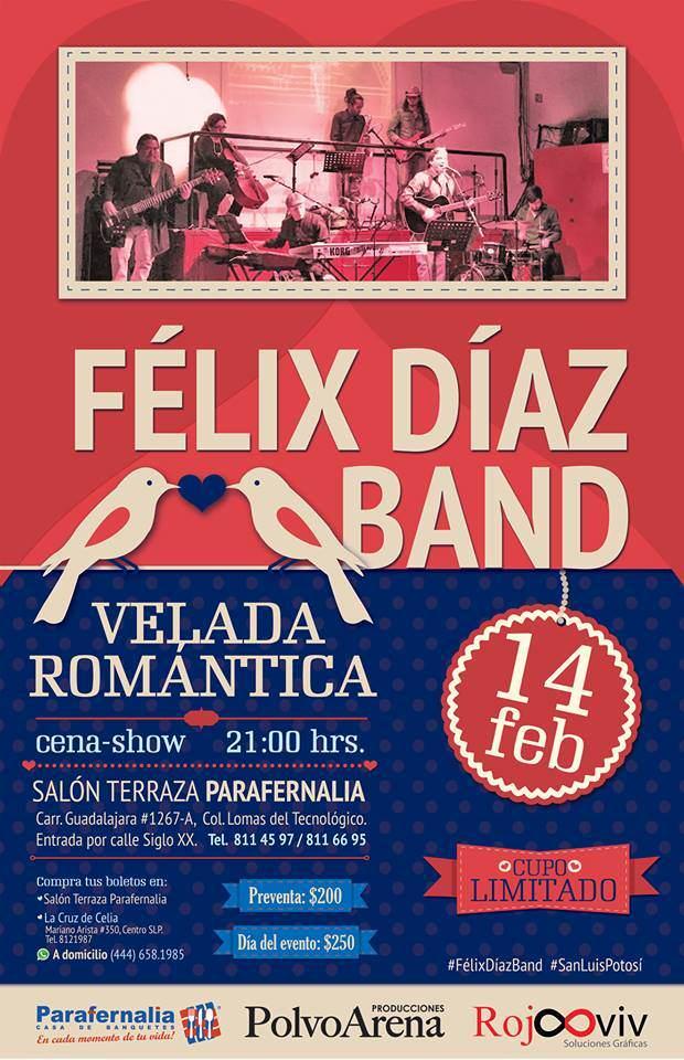 Féliz Díaz Band @ Salón Terraza Parafernalia | San Luis Potosí | México