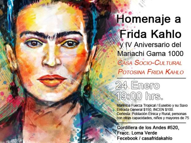 Homenaje a Frida Kahlo @ Casa Socio-Cultura Potosina Frida Kahlo | San Luis Potosí | San Luis Potosí | México