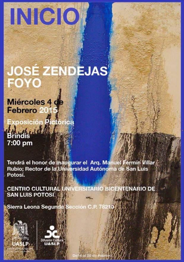 José Zendejas Foyo - Exposición @ Centro Cultural Universitario Bicentenario