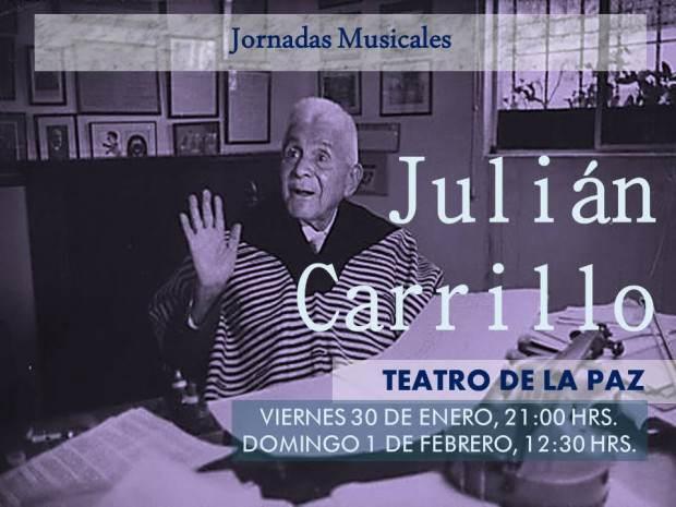 Julian Carillo 140 años