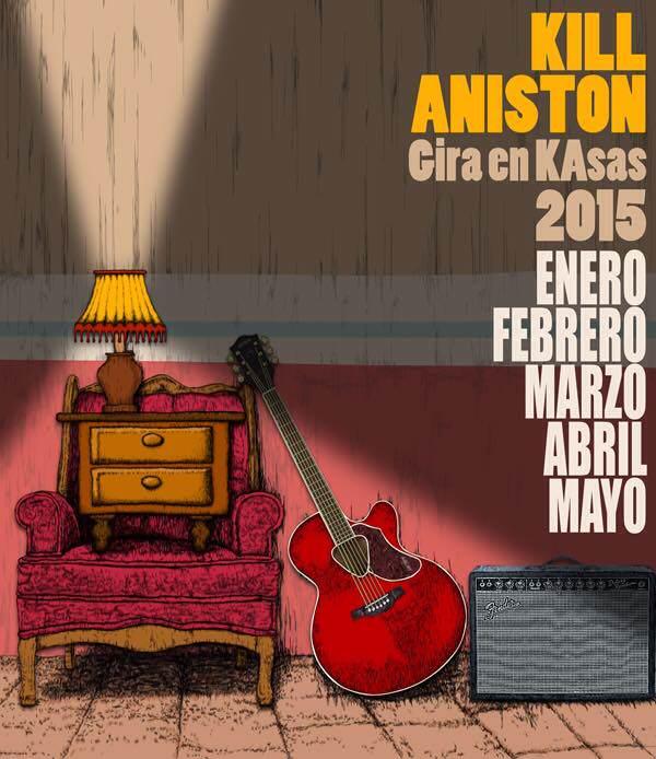Kill Aniston en San Luis Potosí @ Café el Fauno