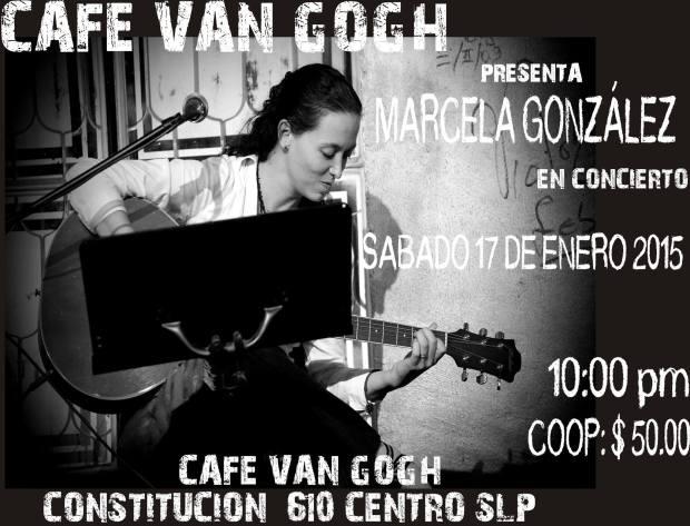 Marcela Gonzalez en concierto