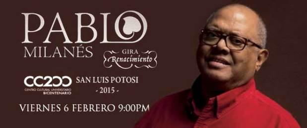 Pablo Milanés en San Luis Potosí @ Centro Cultural Universitario Bicentenario | Centro | San Luis Potosí | México