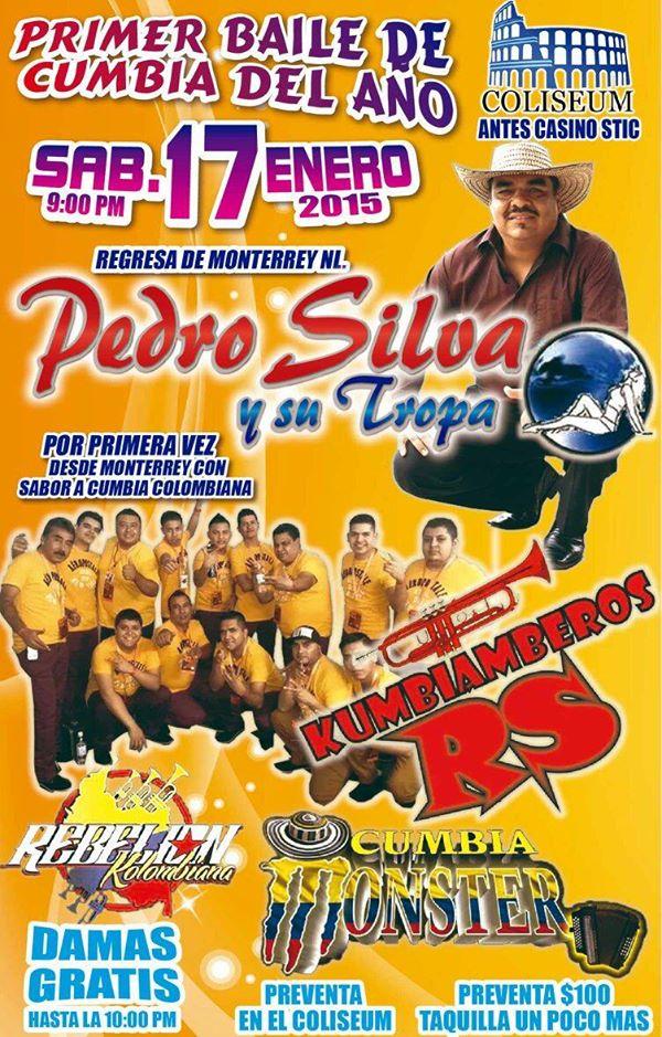 Primer baile de cumbia del 2015 @ Coliseum  | San Luis Potosí | San Luis Potosí | México