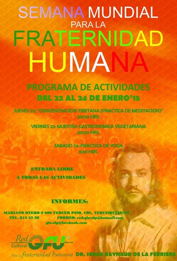 Semana Mundial para la Fraternidad Humana @ San Luis Potosí | San Luis Potosí | México