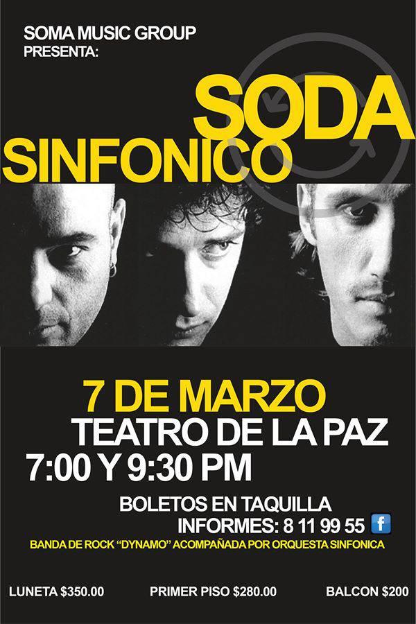 Soda Sinfónico @ Teatro de la Paz