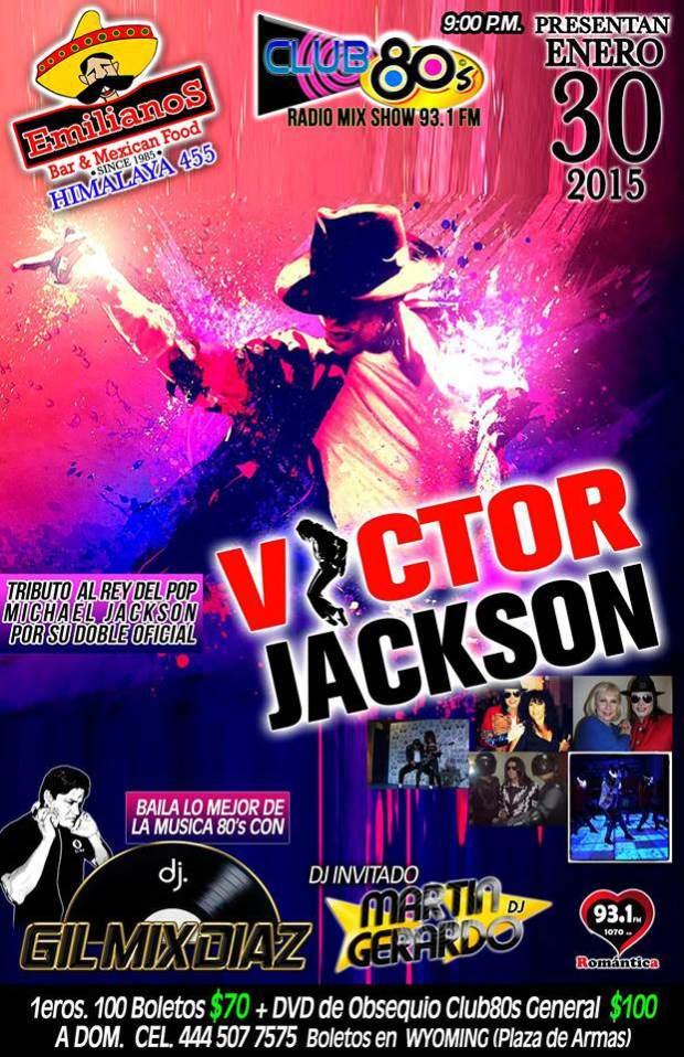 Tributo a Miachael Jackson @ Emilianos | San Luis Potosí | San Luis Potosí | México