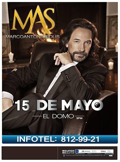 Marco Antonio Solis en San Luis Potosí @ El Domo
