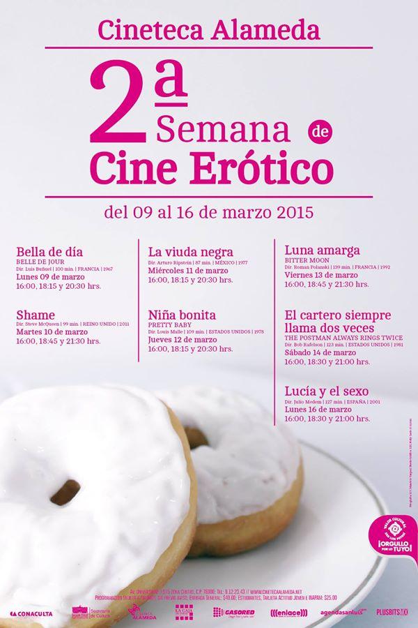 2a Semana de Cine Erótico @ Cineteca Alameda