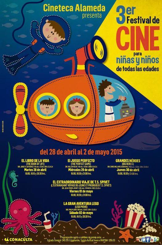 3er Festival de Cine para Niñas y Niños @ Cineteca Alameda